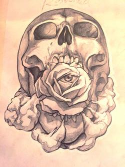 Rosechild Skull