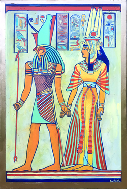 Horus and Cleopatra