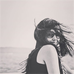 The wind adds some drama to monotone image _#windy #whphairplay #hair #nikon #monroelake #indiana #i
