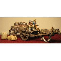 Figurines Fenryll Charette avec chargement