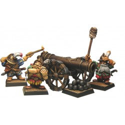 Figurines Fenryll Canon des Nains