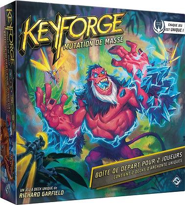 KeyForge Mutation de masse starter