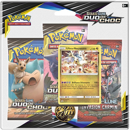 Pokémon pack de 3 boosters SL09