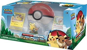 Pokémon Coffret pokéball Pikachu et Evoli