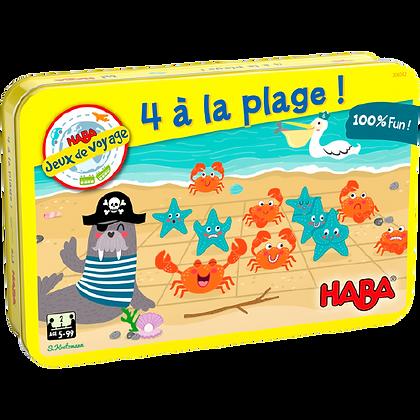 4 à la plage