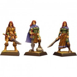 Figurines Fenryll La guerrière