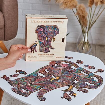 Puzzle Eléphant Impérial