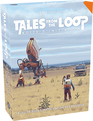 Tales from the Loop boîte d'initiation