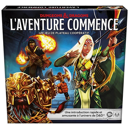 Dungeons & Dragons l'aventure commence