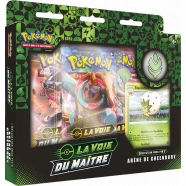 Pokémon EB3.5 La Voix du Maitre coffret l'arène de Greenbury