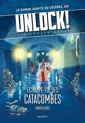 Livre Unlock escape geek échappe toi des catacombes