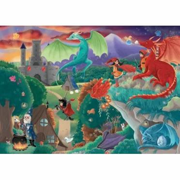 Puzzle Wilson 50p Les dragons