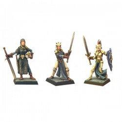Figurines Fenryll La paladine