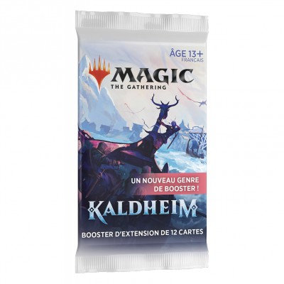 Magic Kaldheim booster d'extension