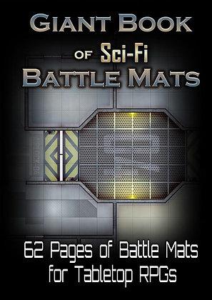 Livre plateau de jeu A3 Sci-fi battle