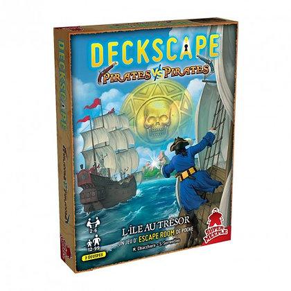 Deckscape Pirates vs Pirates L'île au trésor