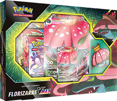 Pokémon Coffret Combat Tortank & Florizarre-VMAX