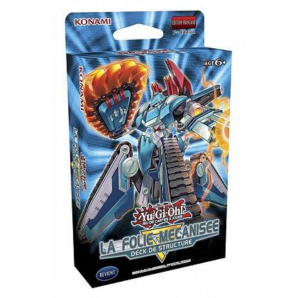 Yu-Gi-Oh! Deck de structure Folie Mécanisée