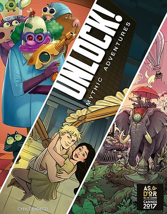 Unlock! 8 Mythic Adventures
