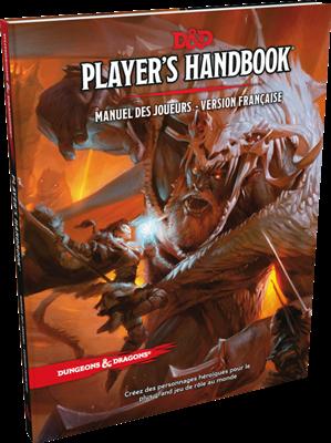 Donjons et Dragons 5 Manuel du joueur