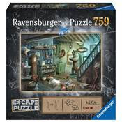 Puzzle escape cave de la terreur