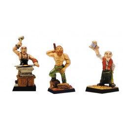 Figurines Fenryll Les villageois