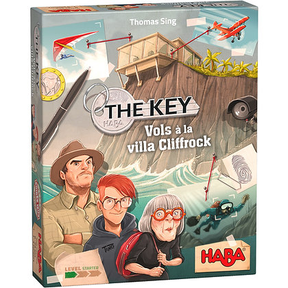 The key vol à la villa Cliffrock
