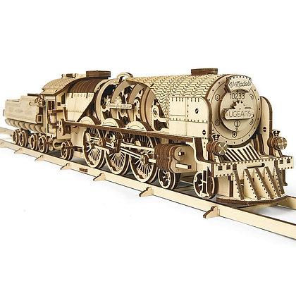 Ugears Locomotive V-express