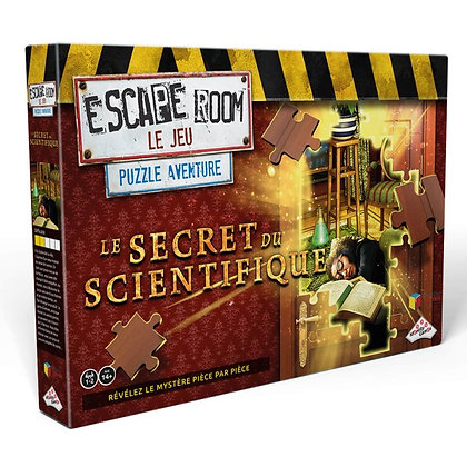 Puzzle Aventure Le secret du scientifique