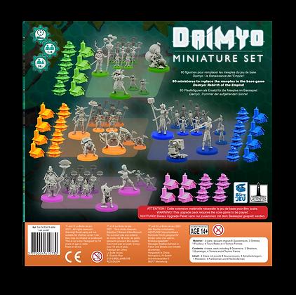 daimyo la renaissance de l'empire figurines
