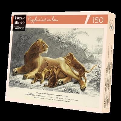 Puzzle Wilson 150p Lionne et ses petits