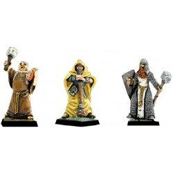 Figurines Fenryll Les prêtres avec masses