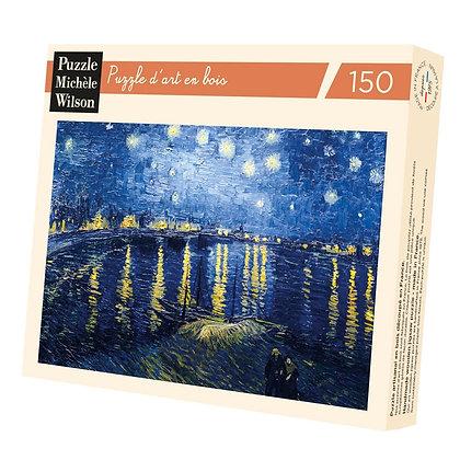 Puzzle Wilson 150p Nuit étoilée sur le Rhône