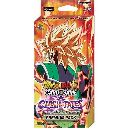 Dragon Ball Super Premium Pack Clash of Fates