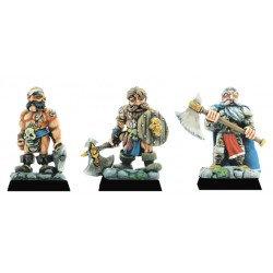 Figurines Fenryll Les mercenaires nains
