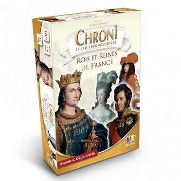 Chronicards L'histoire des rois et reines de France