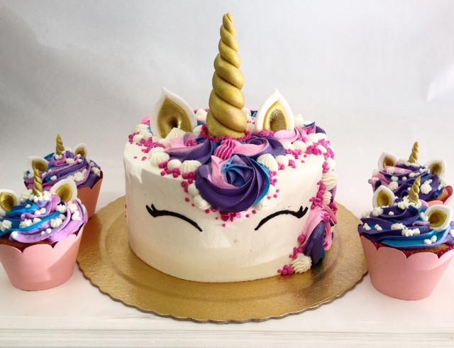 Uma fofura para festa de aniversário! #siscake #siscakefactory #chantininho #unicornio