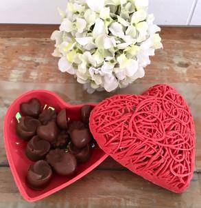Porta jóias de chocolate
