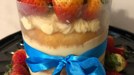 Mini naked cake