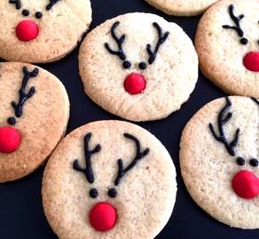 Biscoitos Rena Nariz Vermelho