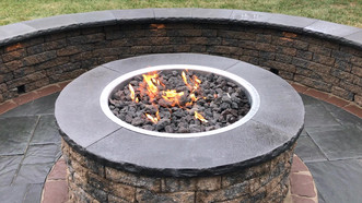 EP Henry Fire Pit and Bench