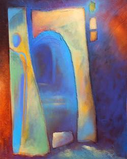 Blue Doorway I
