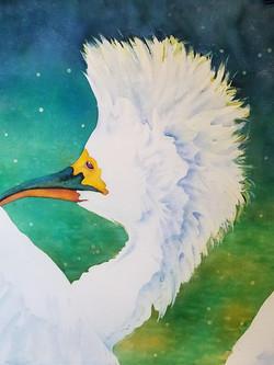 "Feeling Good ~ Watercolor ~ 19 3/4"" x 22 1/4"" ~ 375.00"