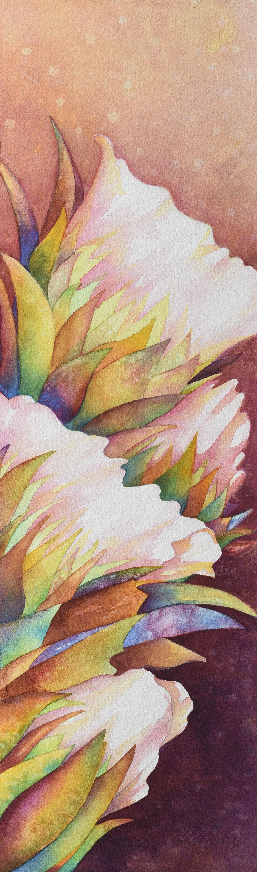 Cactus Flowers II ~ SOLD