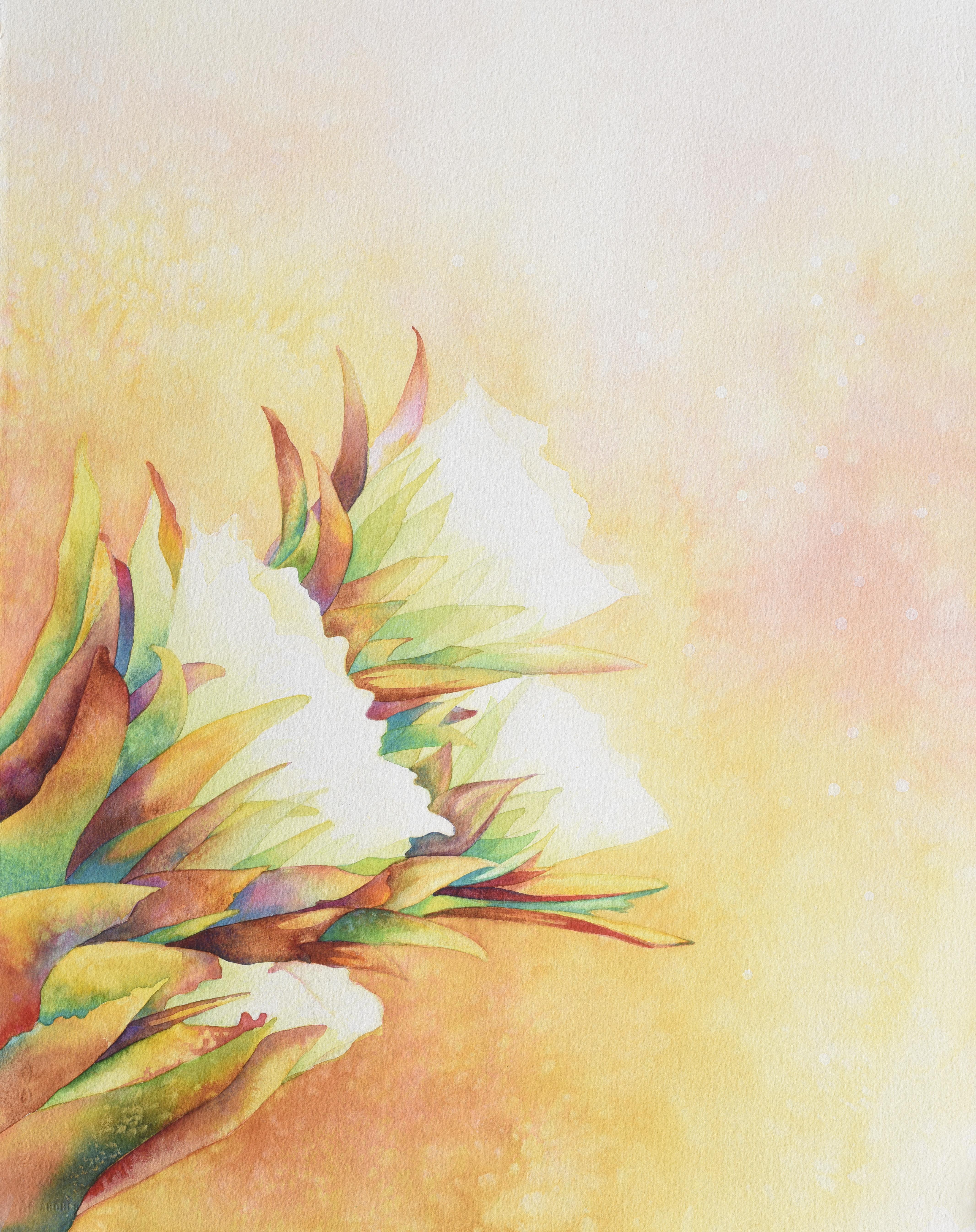 Cactus Flowers II 2019 ~22x30 ~ 1200.