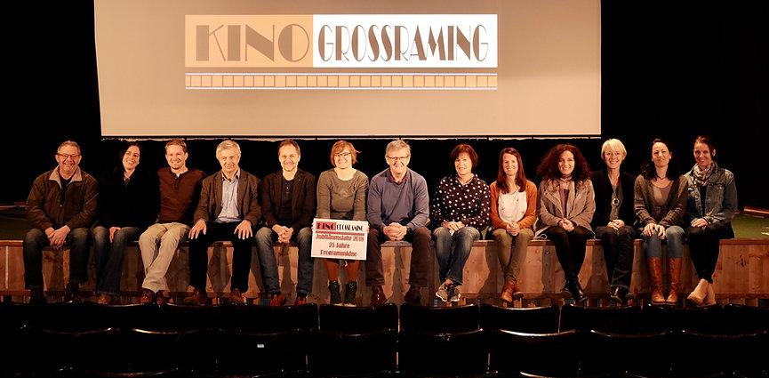 Das Team Filmclub KINO Großraming