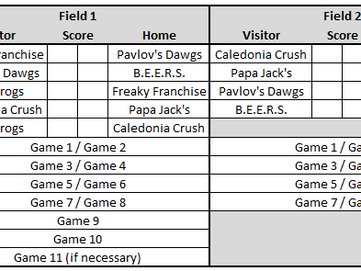 OCWA Under the Lights Schedule and Info
