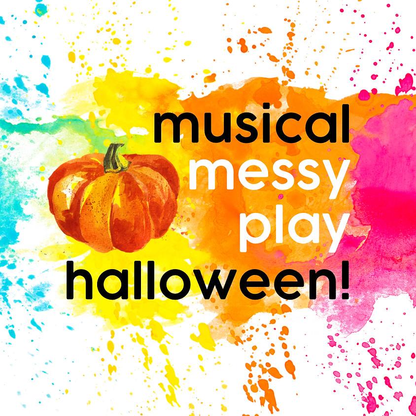 Musical Messy Play Halloween (0-5)