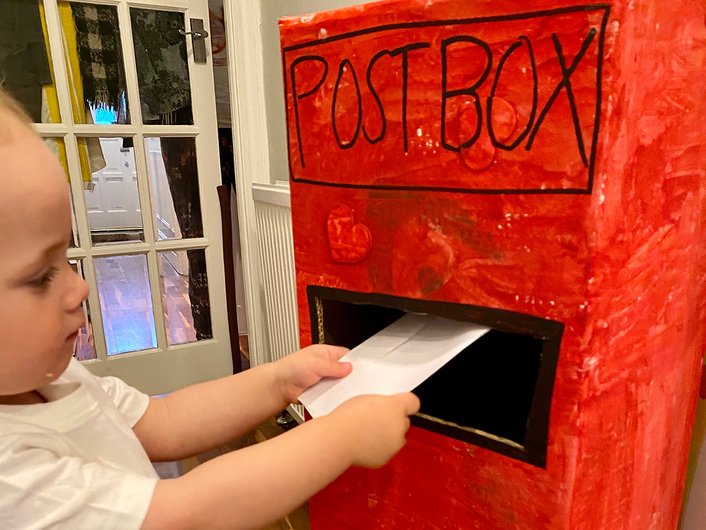 How to make a postbox for your toddler