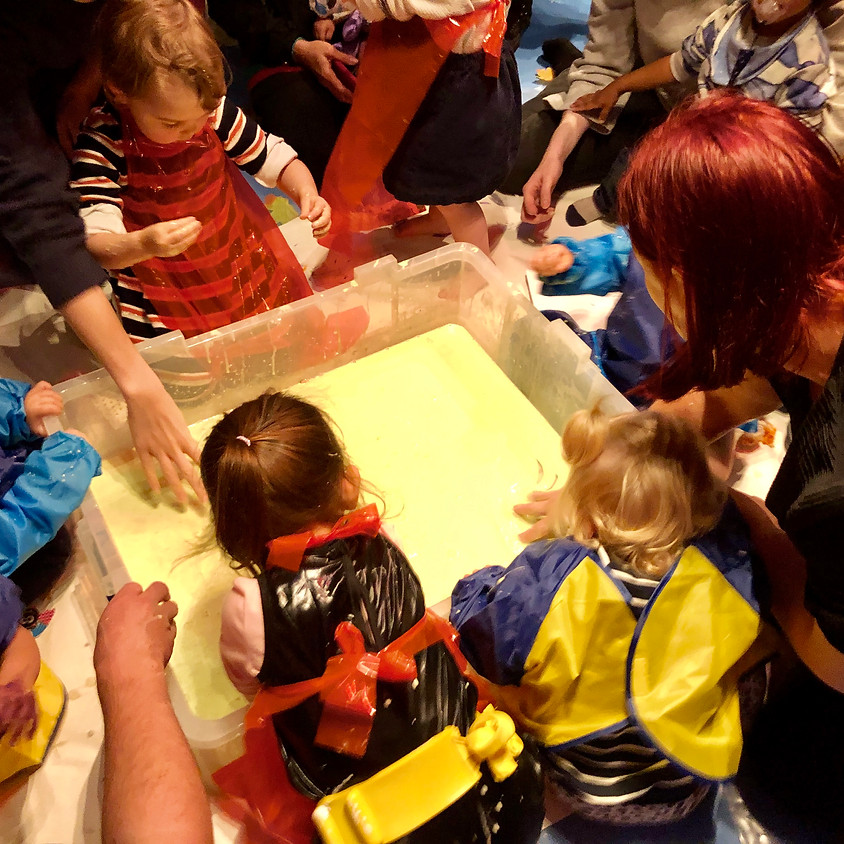 Musical Messy Play 0-5s